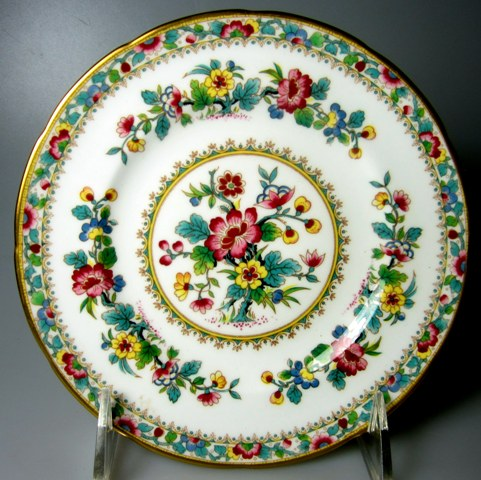 Make sure your browser can show photos and reload this page to see Coalport China Ming Rose  Bread and butter plate 6 1/8