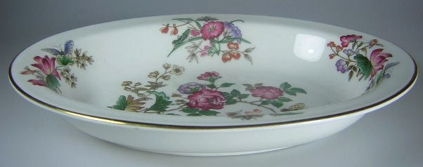 Make sure your browser can show photos and reload this page to see Wedgwood China Charnwood WD3984 Oval vegetable  10