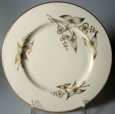 Make sure your browser can show photos and reload this page to see Lenox China Arrowhead T422 Salad plate 8 1/4