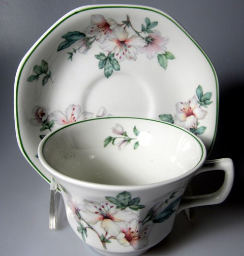 Make sure your browser can show photos and reload this page to see Adams China Azalea Cup and saucer set 2 1/2