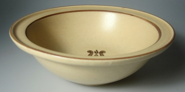 Make sure your browser can show photos and reload this page to see Pfaltzgraff China Village Cereal bowl   6 1;8