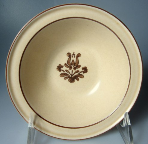 Make sure your browser can show photos and reload this page to see Pfaltzgraff China Village Fruit/dessert bowl  5 1/8