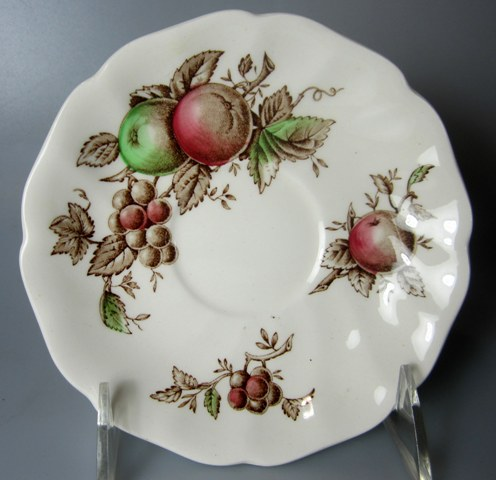 Make sure your browser can show photos and reload this page to see Johnson Brothers Dinnerware  Harvest Time Saucer only 5 5/8