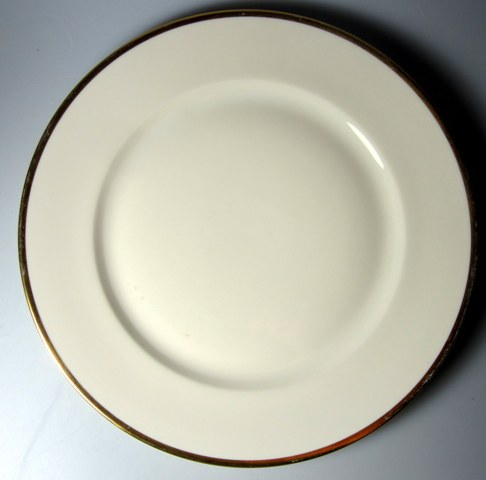 Make sure your browser can show photos and reload this page to see Rosenthal - Continental China #1473 Dinner plate  9 7/8