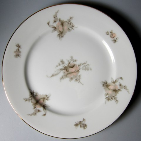 Make sure your browser can show photos and reload this page to see Rosenthal - Continental China Colonial Rose Salad plate 7 5/8