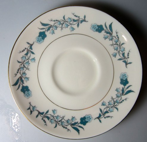 Make sure your browser can show photos and reload this page to see Haviland China Clinton Saucer only 5 3/4