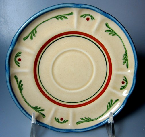 Make sure your browser can show photos and reload this page to see Metlox-Poppytrail-Vernon Pottery Gigi Saucer only