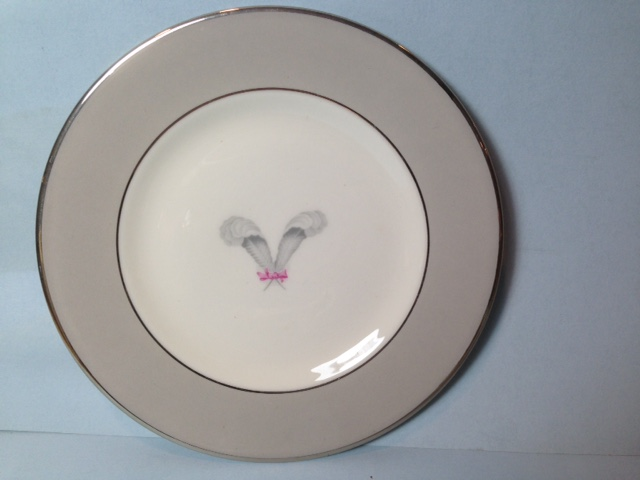 Make sure your browser can show photos and reload this page to see Syracuse China Coronet Bread and butter plate