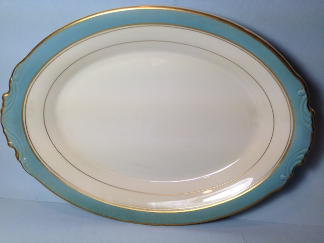 Make sure your browser can show photos and reload this page to see Syracuse China Edmonton Platter, small --12