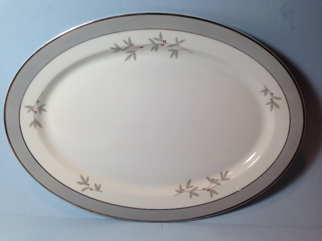 Make sure your browser can show photos and reload this page to see Syracuse China Harmony Platter, small --12