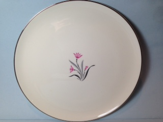 Make sure your browser can show photos and reload this page to see Syracuse China Alpine Dinner plate --10 5/8