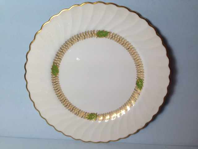 Make sure your browser can show photos and reload this page to see Syracuse China Champlain Bread and butter plate