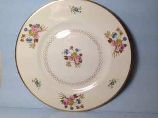 Make sure your browser can show photos and reload this page to see Syracuse China Coventry Dinner plate --10 1/2