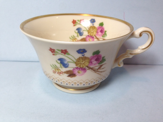 Make sure your browser can show photos and reload this page to see Syracuse China Coventry Cup only (no saucer)