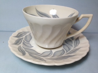 Make sure your browser can show photos and reload this page to see Syracuse China Dawn Cup and saucer set