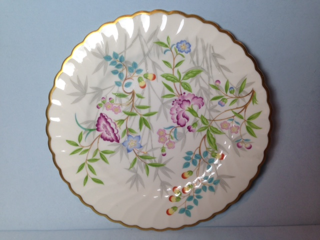 Make sure your browser can show photos and reload this page to see Syracuse China Jewel Tree Bread and butter plate