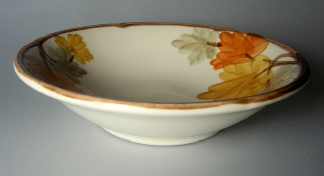 Make sure your browser can show photos and reload this page to see Franciscan China October  Cereal bowl 7 inches