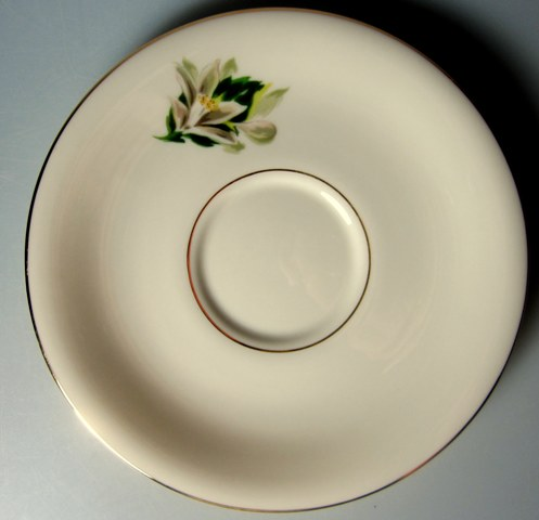 Make sure your browser can show photos and reload this page to see Fine Arts China Remembrance  Saucer only  6