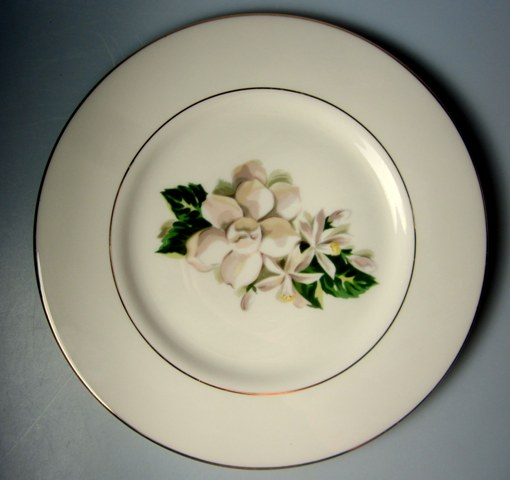 Make sure your browser can show photos and reload this page to see Fine Arts China Remembrance  Salad plate  8 1/2