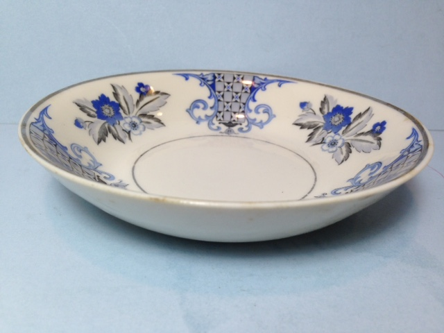 Make sure your browser can show photos and reload this page to see Syracuse China Lady Mary Fruit/dessert bowl