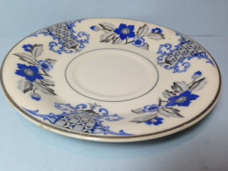 Make sure your browser can show photos and reload this page to see Syracuse China Lady Mary Saucer only