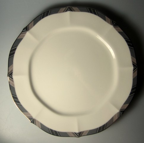 Make sure your browser can show photos and reload this page to see Noritake China Midnight Majesty 7295 Dinner plate 10 3/8