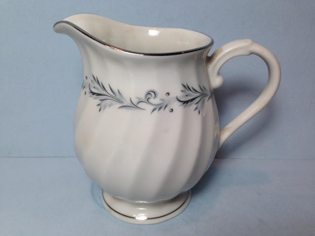 Make sure your browser can show photos and reload this page to see Syracuse China Sonata Creamer