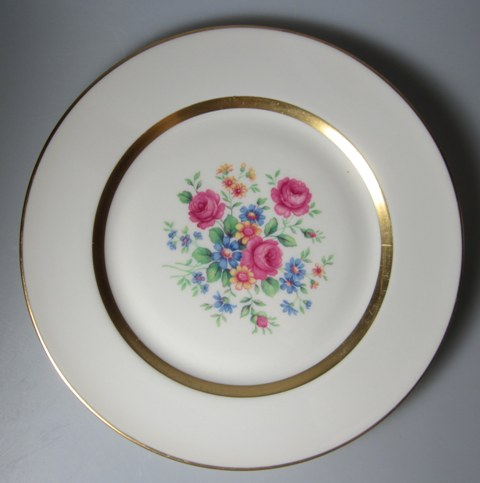 Make sure your browser can show photos and reload this page to see Haviland China Gainsborough Salad plate 7 1/2