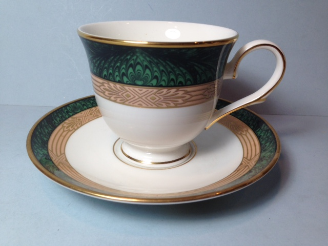 Make sure your browser can show photos and reload this page to see Lenox China Federal Grandeur Cup and saucer set