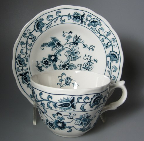 Make sure your browser can show photos and reload this page to see Nikko Dinnerware Ming Tree 505 Cup and saucer set  2 5/8