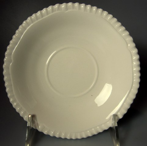 Make sure your browser can show photos and reload this page to see Spode China Gadroon Saucer only 6
