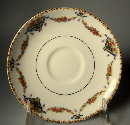 Make sure your browser can show photos and reload this page to see Haviland China Pomona Saucer only 5 3/4