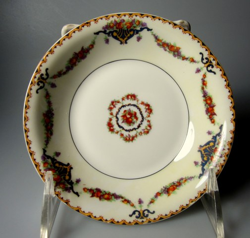 Make sure your browser can show photos and reload this page to see Haviland China Pomona Fruit/dessert bowl 5