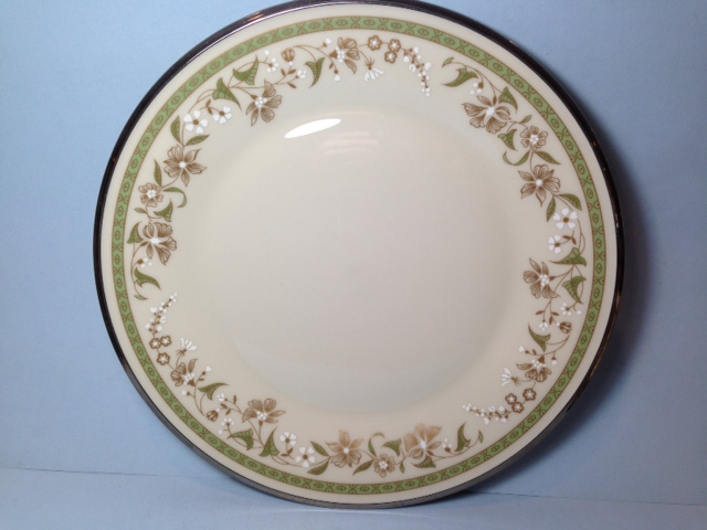 Make sure your browser can show photos and reload this page to see Lenox China Fresh Meadow Salad plate