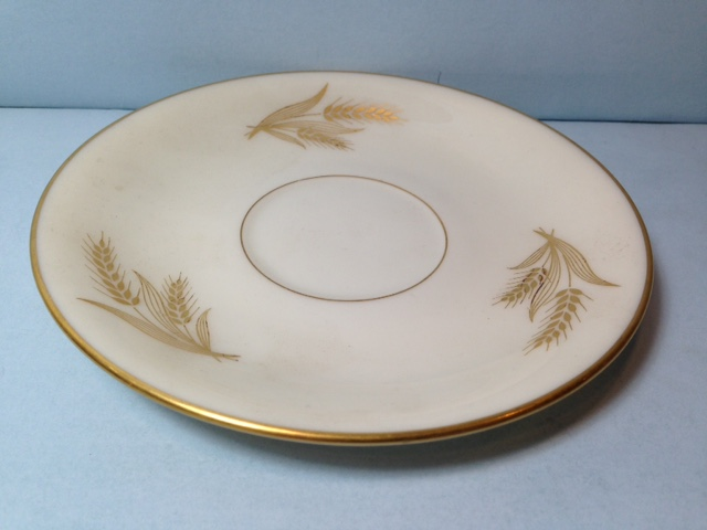 Make sure your browser can show photos and reload this page to see Lenox China Harvest Saucer only