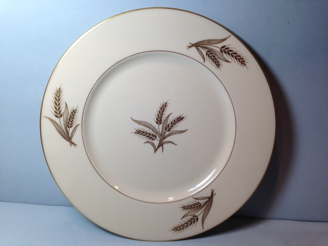 Make sure your browser can show photos and reload this page to see Lenox China Harvest Dinner plate