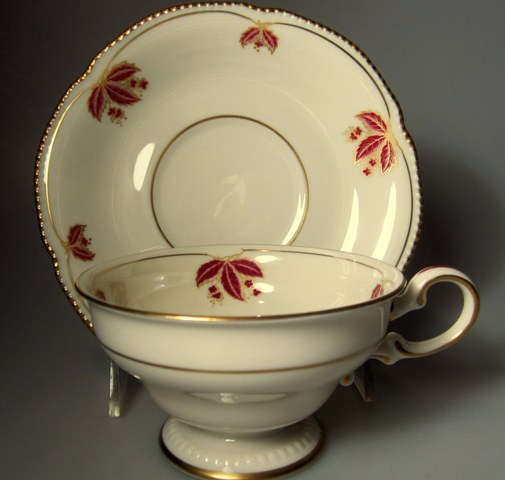 Make sure your browser can show photos and reload this page to see Castleton - USA China Jubilee Cup and saucer set 3 7/8