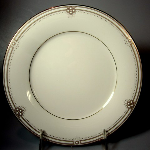 Make sure your browser can show photos and reload this page to see Noritake China Satin Gown 7730 Dinner plate 10 5/8