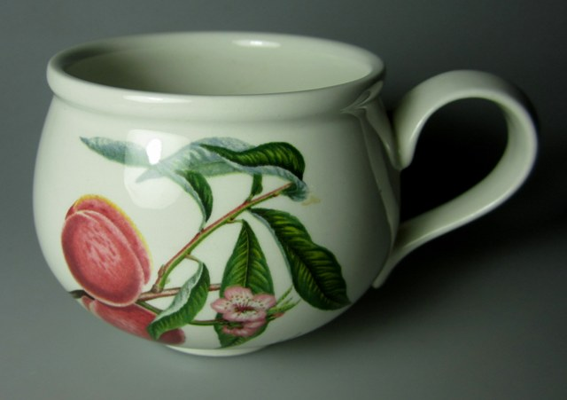 Make sure your browser can show photos and reload this page to see Portmeirion Dinnerware Pomona  Cup only (no saucer)  Romantic/Breakfast Cup ROYAL GEORGE (Med Size) 3