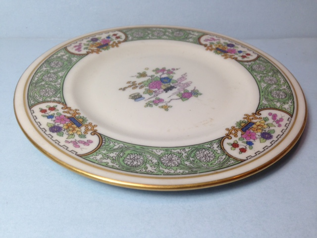 Make sure your browser can show photos and reload this page to see Lenox China Peking W24 Bread and butter plate