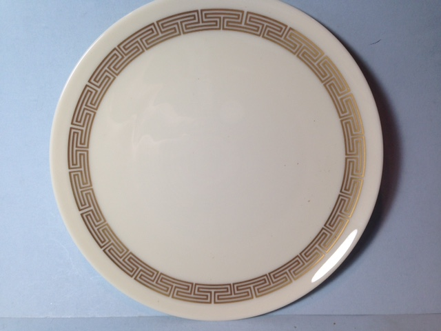 Make sure your browser can show photos and reload this page to see Lenox China Rondelle E500 Bread and butter plate