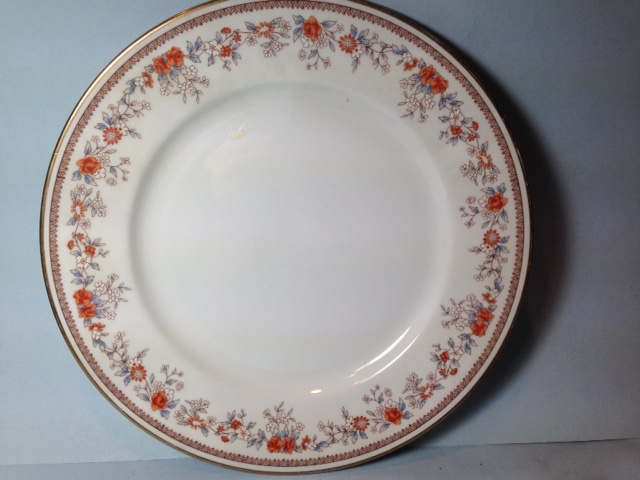 Make sure your browser can show photos and reload this page to see Lenox China Russet Blossom's Bread and butter plate