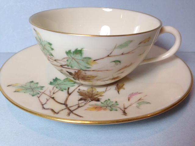 Make sure your browser can show photos and reload this page to see Lenox China Westwind X407 Cup and saucer set