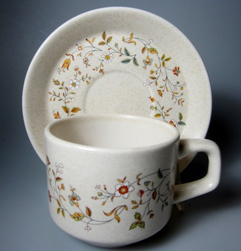 Make sure your browser can show photos and reload this page to see Lenox China Merriment  Cup and saucer set 2 3/4