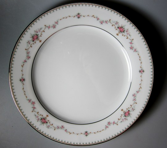 Make sure your browser can show photos and reload this page to see Noritake China Fairmont 6102 Salad plate 8 1/4