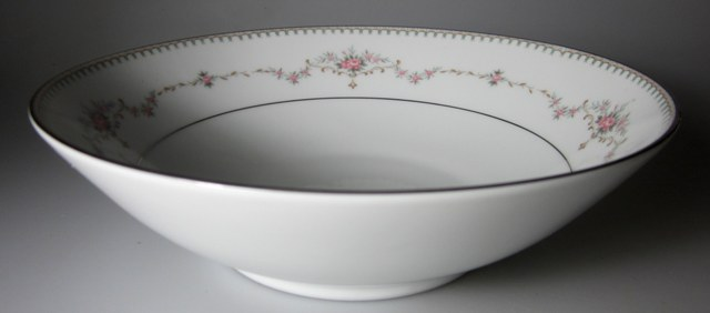 Make sure your browser can show photos and reload this page to see Noritake China Fairmont 6102 Round vegetable  8 1/4