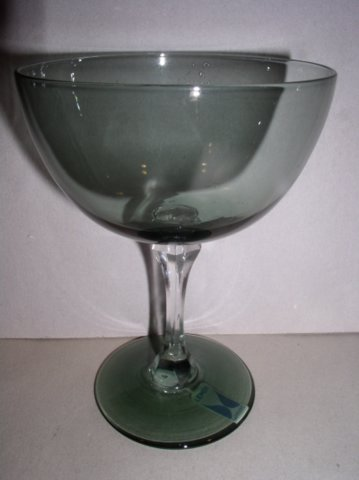 Make sure your browser can show photos and reload this page to see Lenox Crystal Sapphire Sherbet tall/champagne --5 1/4