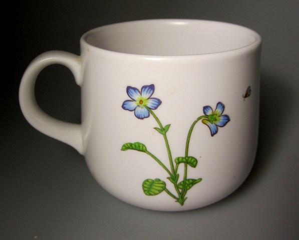 Make sure your browser can show photos and reload this page to see Noritake China Petals Plus 9071 Cup only (no saucer) 3