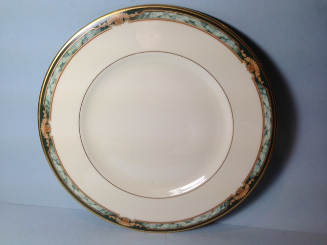 Make sure your browser can show photos and reload this page to see Lenox China Crestwood  Bread and butter plate