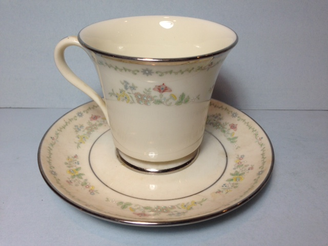 Make sure your browser can show photos and reload this page to see Gorham China Lady Madison Cup and saucer set